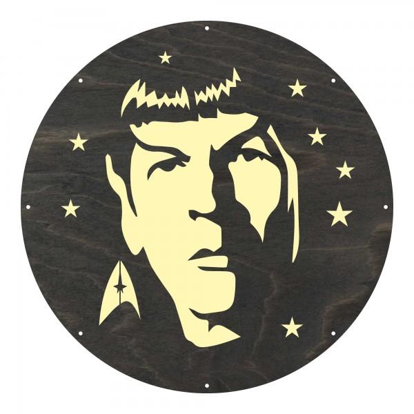 "Motivscheibe ""Spock""   Marolight"