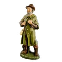 Shepherd with cloak, to 8.5 in. figures