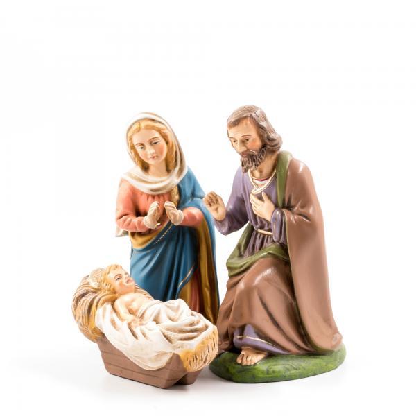 Heilige Familie, 3 Teile, zu 17cm Figuren