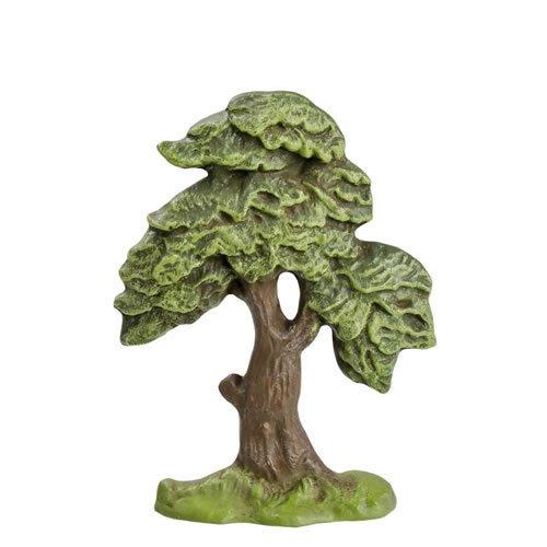 Laubbaum (Halbrelief), H=14cm, für 7 - 10cm Figuren - Original MAROLIN® - Zubehör für Modellbau oder Paradiesgarten - Made in Germany