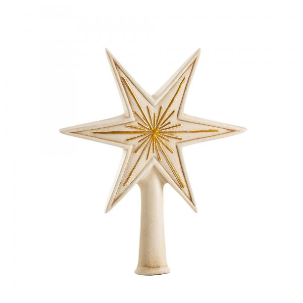 Tree topper Little Star (antique white)