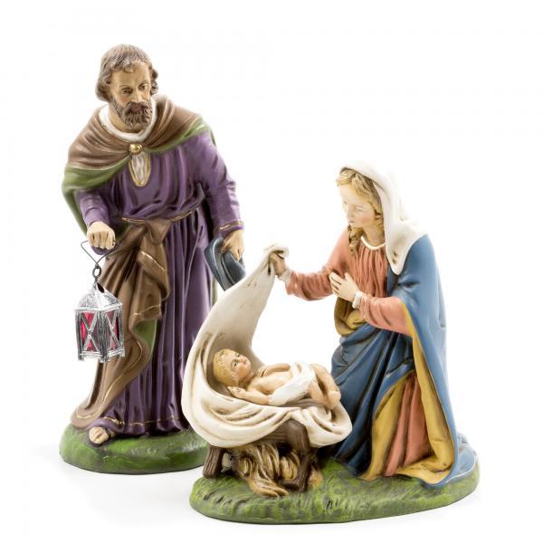 Heilige Familie, 3 Teile, zu 21cm Figuren