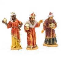 Heilige Drei Könige, zu 7cm Fig. (Kunststoff)