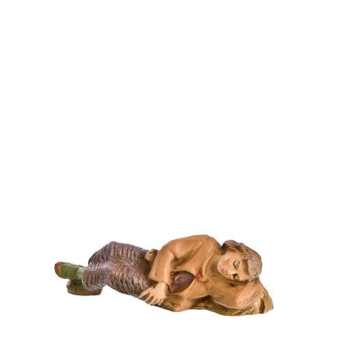 Hirte schlafend, zu 9cm Krippenfiguren - Original MAROLIN® - Krippenfigur für Ihre Weihnachtskrippe - Made in Germany
