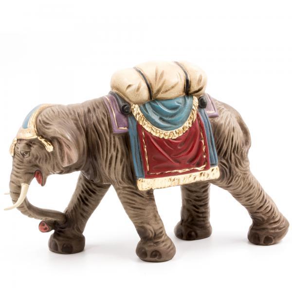 Elefant mit Gepäck, zu 11 - 12cm Figuren