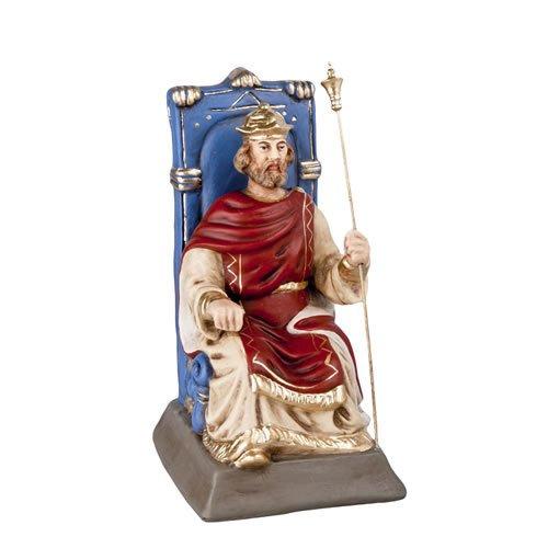 Herodes auf Thron sitzend, zu 12cm Figuren passend