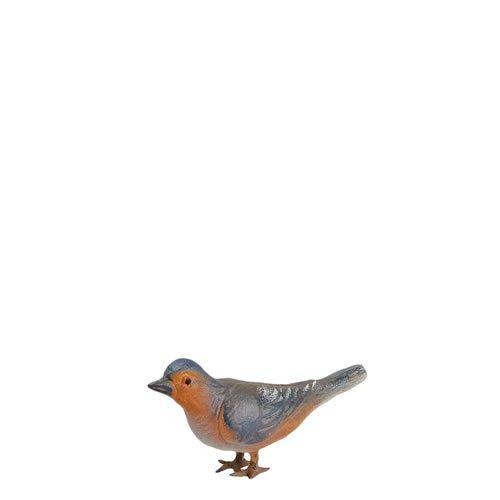 Vogel (Zinnbeine), zu 21cm Figuren passend - ein Artikel der Original MAROLIN® - Tiere als Dekoration für Ihre Weihnachtskrippe oder Weihnachtspyramide - Made in Germany