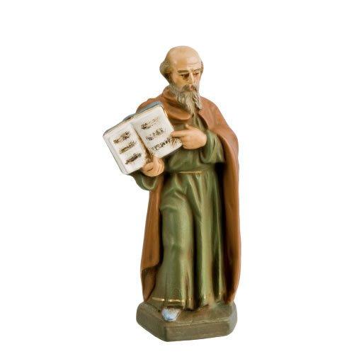 Matthäus, zu 11cm Krippenfiguren - Original MAROLIN® - Figur für Ihre Krippe oder Weihnachtspyramide - Made in Germany