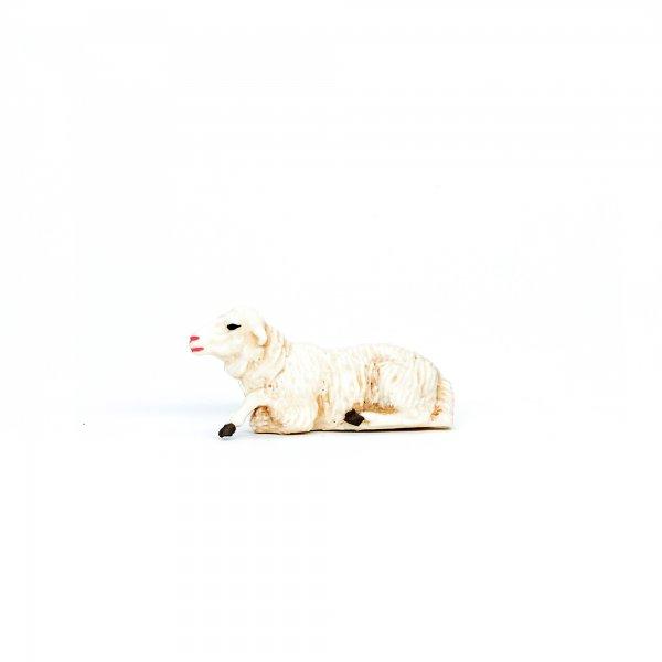 Schaf liegend, zu 9cm Fig. (Kunststoff)