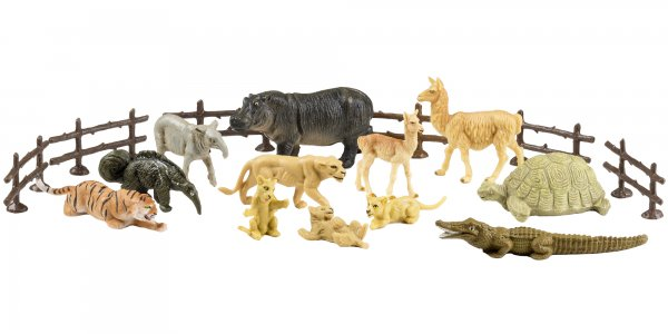"""Spielfiguren Set """"Zoo 3"""""""