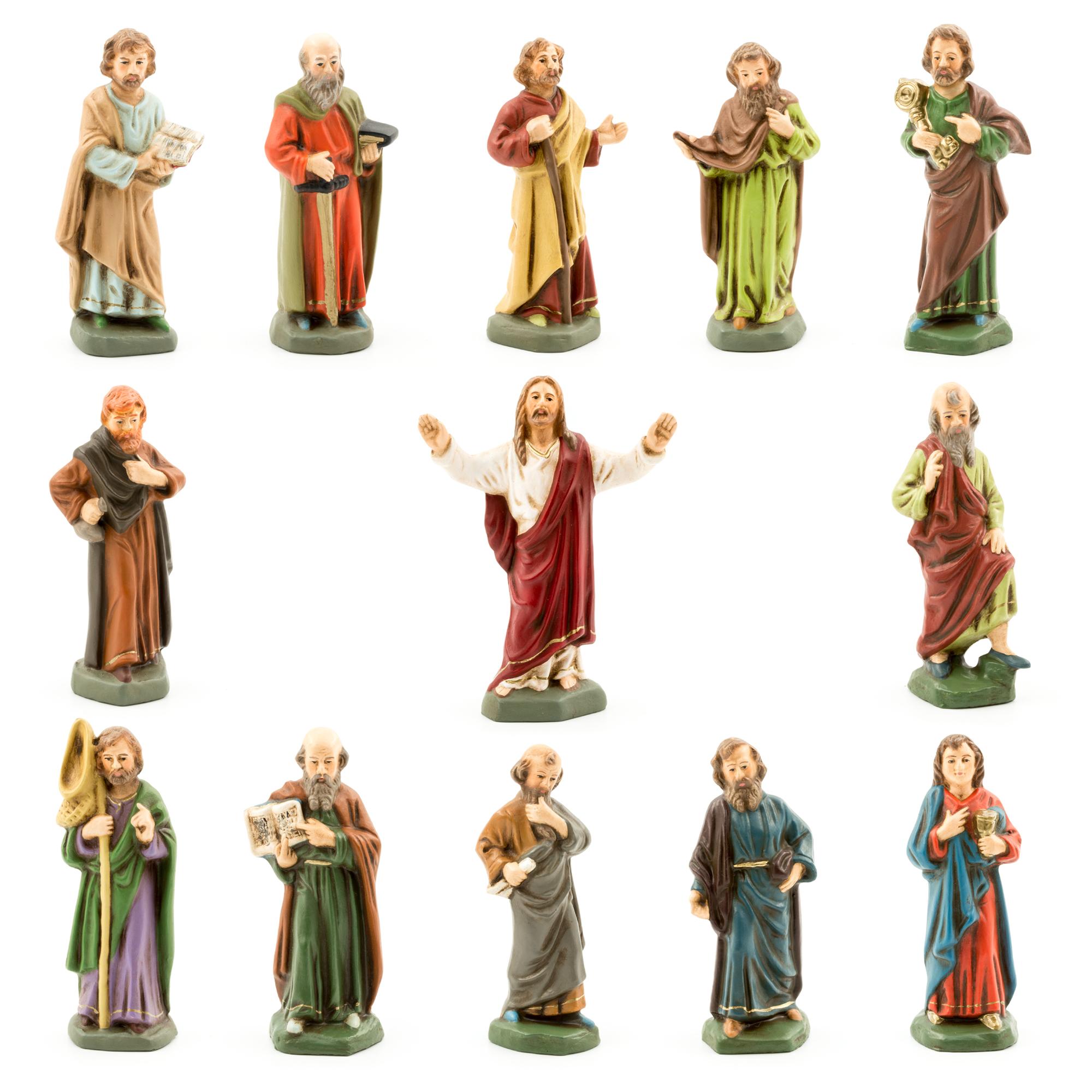 Aus Der Reinerzaustraße Gibt Es Schon Anträge Zur: Jesus Und Seine Jünger In Der 9cm Figurengröße.