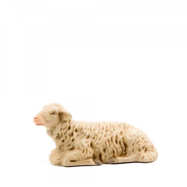 Schaf liegend, zu 21cm Krippenfiguren
