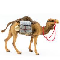 Kamel stehend mit Gepäck, zu 12cm Krippenfiguren (Kunststoff)