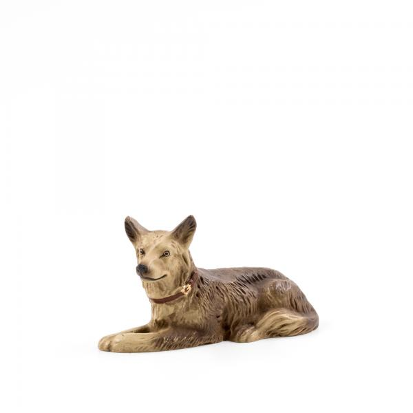 Schäferhund liegend, zu 17cm Figuren passend