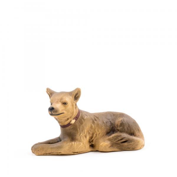 Schäferhund liegend, zu 11 - 12cm Figuren passend