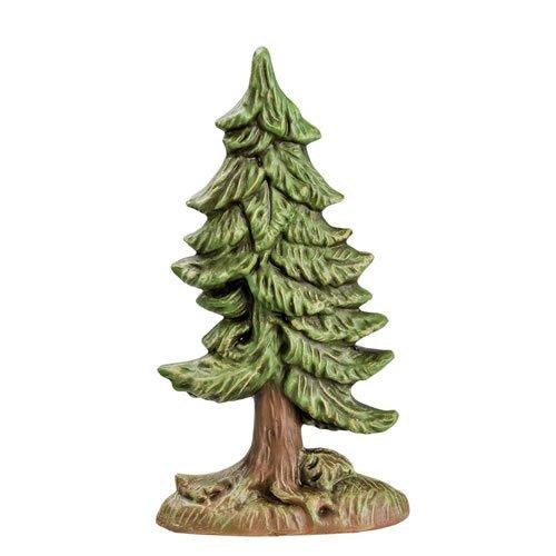 Kleine Tanne (Halbrelief), H=16cm - für 9 - 11cm Figuren - Original MAROLIN® - Zubehör für Modellbau oder Ihre Weihnachtskrippe - Made in Germany