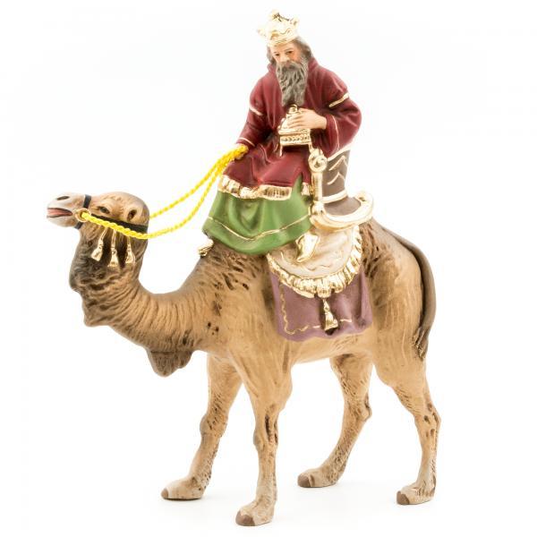 König weiß (Balthasar) zu Kamel, zu 9m Figuren
