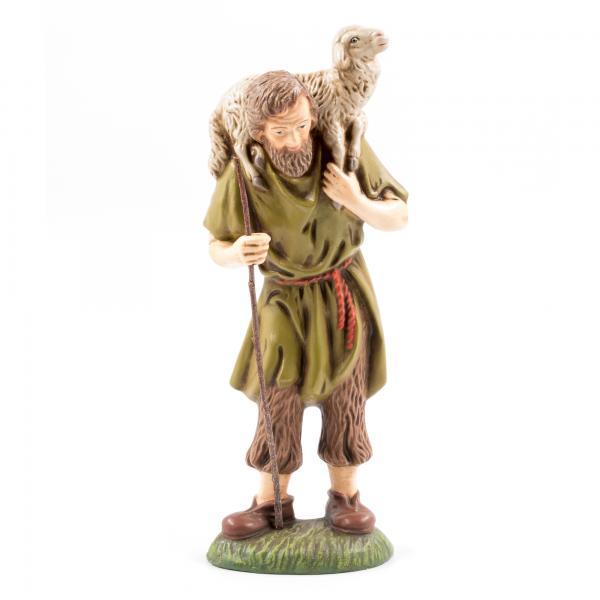 Hirte mit Schaf auf Schulter, zu 17cm Figuren