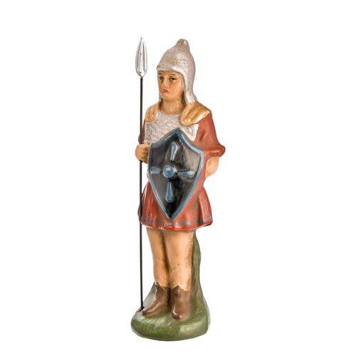 Römischer Soldat stehend mit Lanze, zu 9cm Figuren