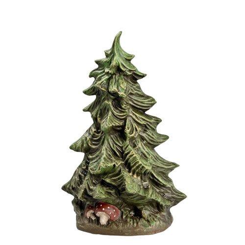 Großer Tannenbusch, H=13,5cm, für 9 - 11cm Figuren - Original MAROLIN® - Zubehör für Modellbau oder Ihre Weihnachtskrippe - Made in Germany