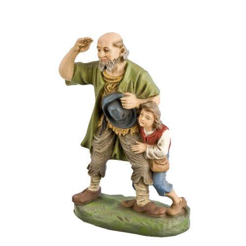 Hirte alt mit Hirtenjungen, zu 17cm Figuren