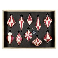 "Art Déco Edition ""Ivory - Strawberry"" 10 pieces, packed in decorative wooden box"