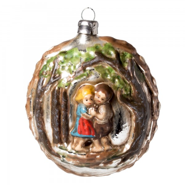 "Glass ornament ""Hansel & Gretel"""