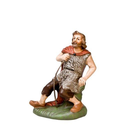 Hirte erschrocken (sitzend), zu 12cm Figuren